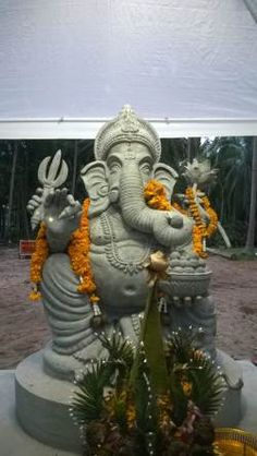 Ganesha in Wat Mok Lan