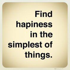 Encuentra la felicidad :)