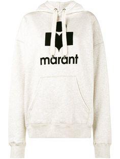 ETOILE ISABEL MARANT ISABEL MARANT ÉTOILE - MANSEL LOGO PRINT HOODIE . #etoileisabelmarant #cloth #hoodie