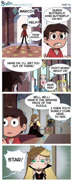 "SVTFOE fan comic ""Broken"" page 43 by Anomalyah.tumblr"