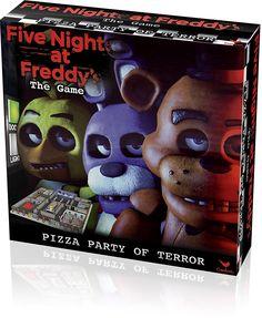 Five Nights at Freddy's Board Game - Walmart.com Birthday Games, Birthday Parties, 7th Birthday, Diy Games, Party Games, Toy Bonnie, Freddy 2, Fnaf Sister Location, Party In A Box