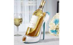 """華やかなパーティーシーンには、誰もがとっておきの勝負ドレスで臨むはず。そんなふうに着飾るのは、人間だけでなくワインも同じ?これは、ワインが""""履く""""ハイヒールパンプス型のワインホルダー「Radiant..."""