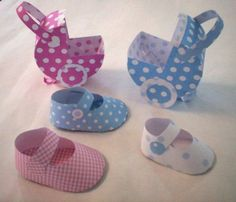 Moldes para zapatitos baby shower - Imagui