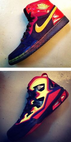 """2013 Air Jordan 1 Retro High """"Year of the Snake"""" + Melo M9 Sneaker Pack (Release Date & Images)"""