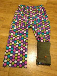 tutorial de pijama con puño que se puede cerrar sobre el pie. pijama tutorial with band that can be folded around the feet