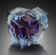 Fluorite - Minerva Mine, Hardin Co., Illinois, USA.: