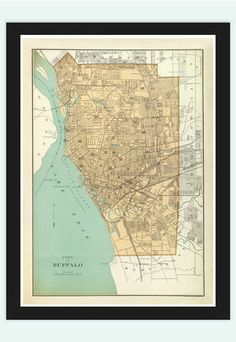 Antique Map of Mexico City 1886 Pinterest