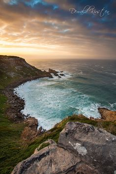 Sunrise over a cove on the iconic Cape Snt Blaize and Oyster Catcher trail in Mosselbay