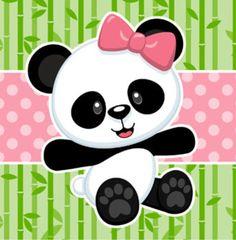 Hielera Panda Themed Party, Panda Birthday Party, Panda Wallpapers, Cute Cartoon Wallpapers, Panda Art, Panda Panda, Panda Decorations, Panda Baby Showers, Panda Nursery