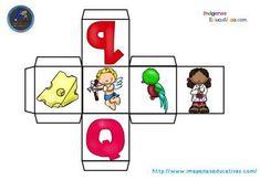 """MANIPULATIVO para aprender el ABECEDARIO completo """"Dados ABC """"  Desarrollo de la percepción sensorial y el lenguaje mediante el reconocimiento y asociación de las vocales con el ejercicio de actividades motrices. Con este..."""
