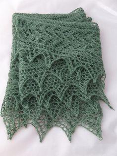 Sineabhar Shawl knitting pattern by Littletheorem on Craftsy