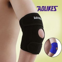 AOLIKES 1 Piece Adjustable Elbow Support Pads With Spring Supporting Codera Protector Sports Safety For Ciclismo Gym Tennis