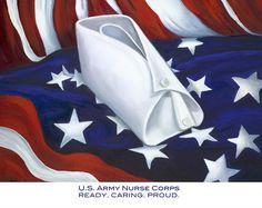 Army nurses | Army Nurse Corps Painting by Marlyn Boyd - U.S. Army Nurse Corps ...