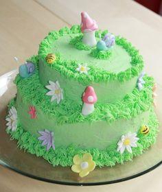 bird cake Garden Theme Cake Birthday Cakes Cakes Pinterest