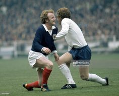 Billy Bremner of Scotland and Alan Ball of England in action during... News Photo | Getty Images