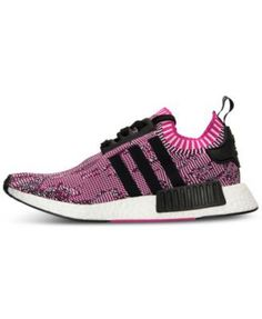 adidas Women\u0027s Nmd XR1 Primeknit Casual Sneakers from Finish Line - Pink 6.5