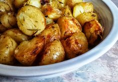 UNPEELED  BAKED  POTATOES - Sometimes they steal the show at Sabbath meals…