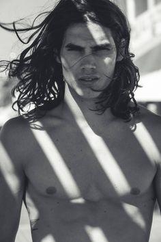 Argentinian model Vito Basso