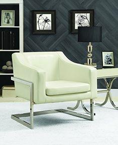 Coaster Fine Furniture Accent Chair Chrome