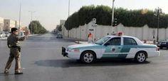 #موسوعة_اليمن_الإخبارية l ضرب رجلي مرور في السعودية وتهشيم سيارتهم