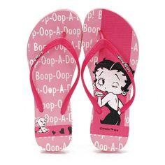 Betty Boop flip flops