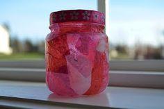 East Coast Mommy: Babyfood Jar Tealight Holders