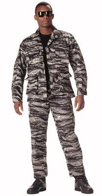 Camouflage Military Fatigues (BDU's) Urban Tiger Pants BDU Pants  $28.98