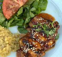 Spice Girl: Grilled Honey Chipotle Chicken
