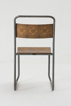 Etched chair from anthropology.   #anthrofave #juvenilehalldesign