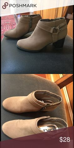 DKNY Booties DKNY suede leather low boots. Great condition. Worn only once. DKNY Shoes Ankle Boots & Booties