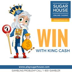 See who everyone in #NewJersey is talking about! Head to www.playsugarhouse.com to find out how you can earn more with King Cash! #BecauseYouDeserveMore   #onlinecasino #win #play #kingcash #slots #games #casino #join #fun #king #sugarhouse