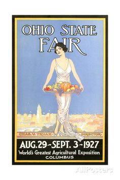 For the Kitchen Ohio State Fair Poster, Columbus Art Print at AllPosters.com