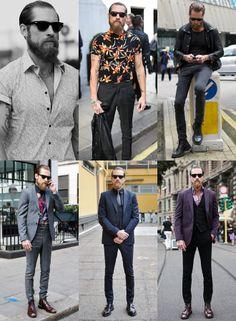 Justin O'Shea Style Lookbook