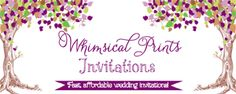 Add your colors and text, and get free invitation printables!
