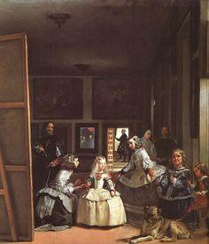 LAS MENINAS  Velazquez  1656  Museo del Prado de Madrid
