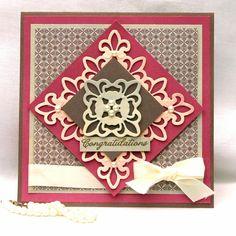 spellbinders card gallery | Spellbinders Paper Arts - Idea Gallery - Congratulations Card by Julie ...