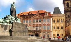 Prague Rococo Architecture | Kinsky Palace and Old Town Square