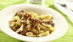 Die cremige Pfifferling-Sauce von MAGGI: Probiere das schnelle, einfache Rezept mit Nudeln! Eine tolle Pilz-Idee, die immer passt.