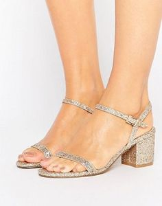 ASOS HONEYCOMB Heeled Sandals **** I know that these are like, MOM HEELS, but no shame in that game! I've got mom feet now so...