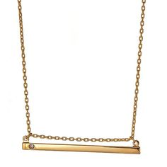Shop the look: Grace Single Stone Necklace from Kendra Phillip