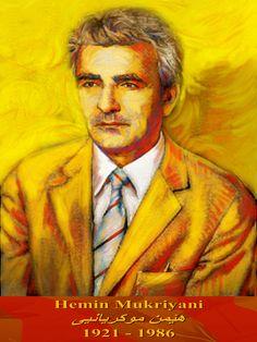 Hemin Mukriyani,Kurdish poet,journalist,translator and literary critic. by Rebwar K Tahir.