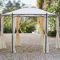 Dunelm have a range of gazebos that are perfect for festivals or just to pop up in the garden this summer!