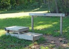 Image result for plans for horse mounting block