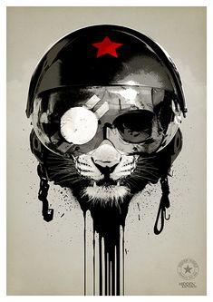 Eye of the Tiger by Welsh designer and illustrator Rhys Owens on deviantART