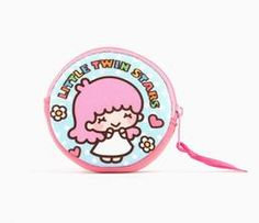 Little Twin Stars Coin Purse: Blush