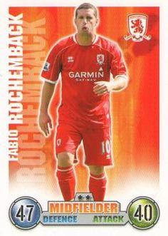 2007-08 Topps Premier League Match Attax #201 Fabio Rochemback Front