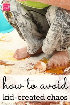 Are your kids driving you crazy with mess after mess? If you're dealing with a messy house and kids who won't do chores, see this post for help and tips on how to save your sanity and stop the madness.