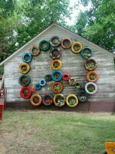 And more old tires idea!