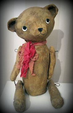 Teddy bear- OOAK art doll