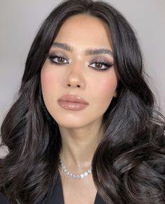 Glamorous Makeup, Glam Makeup, Skin Makeup, Beauty Makeup, Hair Beauty, Makeup Style, Make Makeup, Pretty Makeup, Makeup Tips
